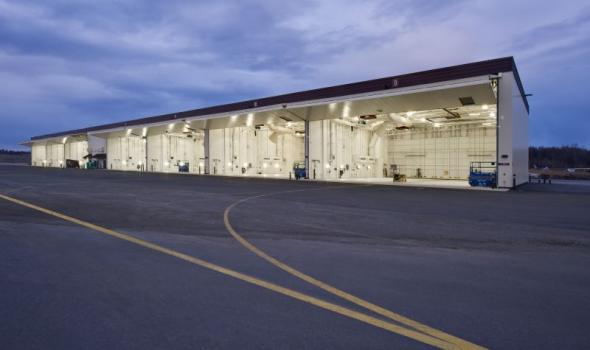 ELM288 F-22A 7-Bay Aircraft Shelter